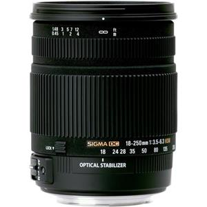 SIGMA 18-250mm f/3.5-6.3 DC OS HSM Camera Lens
